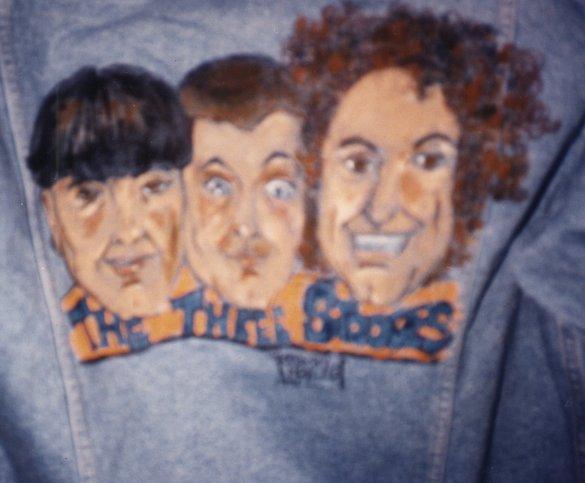 3 Stooges on Jacket