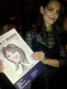 Katie Holmes Caricature